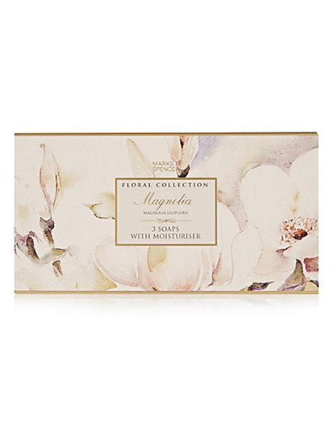 Magnolia Soap Set