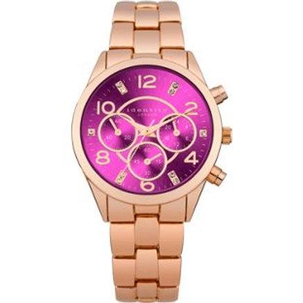 Identity London Rose Bracelet Strap Watch