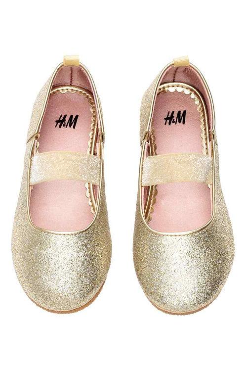 H&M Elasticated ballet pumps