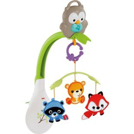 Fisher-Price Woodland Friends 3 in 1 Musical Mobil