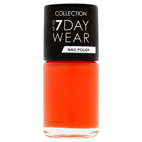 Collection Up To 7 Day Wear Nail Polish Sh Orange