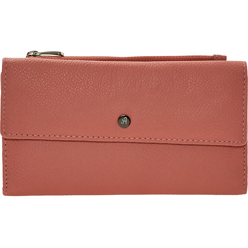 ASHWOOD Pink Leather Purse