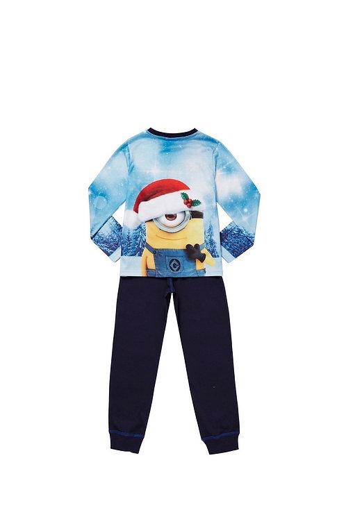 Blue Universal Studios Minions Just Chillin Pyjama