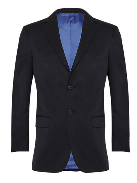 Navy Regular Fit Men's Suit by Marks and Spencer