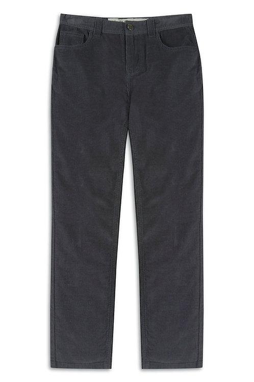 Older Boy Charcoal Corduroy Trousers