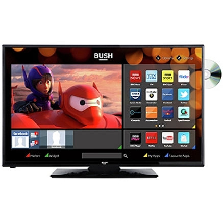 Bush 24 inch HD Ready Smart TV with DVD Player