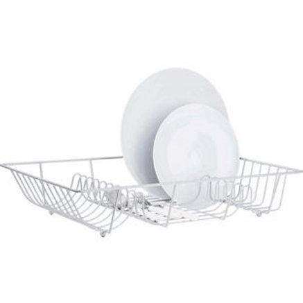 Argos Value Range Dish Rack - Silver