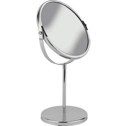 Simple Value Round Chrome Bathroom Mirror
