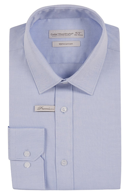 Blue Premium Oxford Cotton Shirt