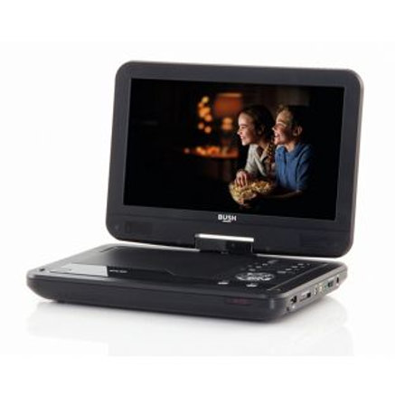 Bush 10in Black Portable DVD Player