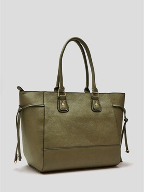 Large Tote Bag - Khaki