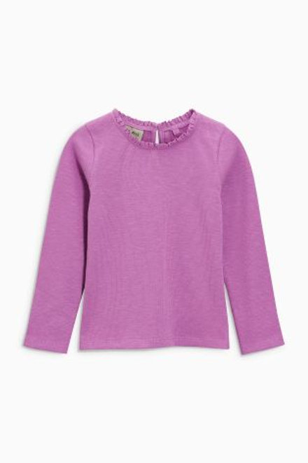 Purple Long Sleeve Top by NEXT