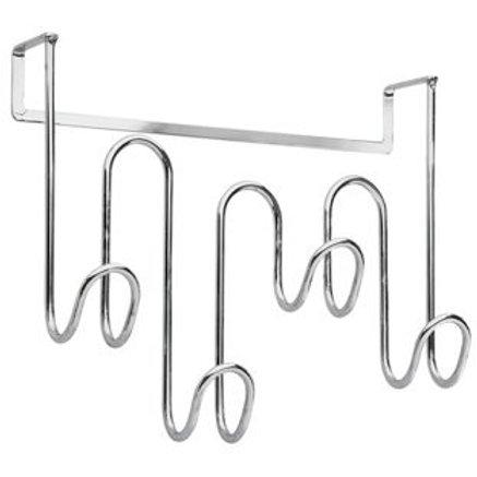 4 Hook Over Door Towel Hanger