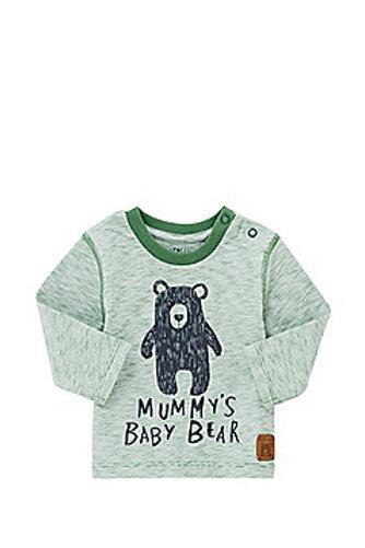 F&F MUMMY'S BABY BEAR LONG SLEEVE T-SHIRT