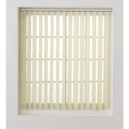Vertical Blinds Slat Pack 122x137cm - Cream