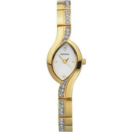 Sekonda Ladies' Two-Tone Set Watch.
