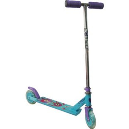Monster Jelico Scooter - Purple/Turquoise