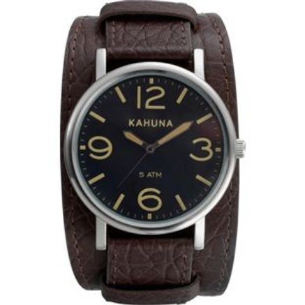 Kahuna Men's Cuff Watch and Bracelet Set.