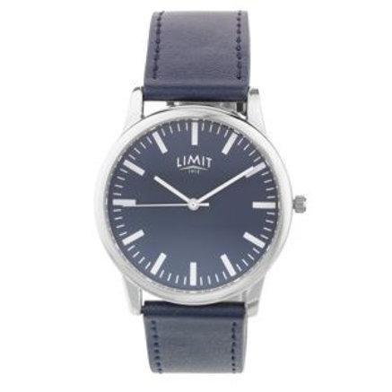 Limit Men's Navy Strap Navy Dial Watch