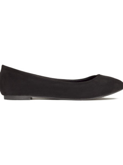 H&M black ballet pumps