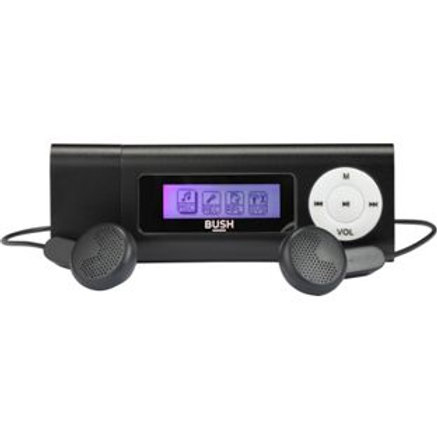 Bush 4GB MP3 Player with LCD Display - Blk