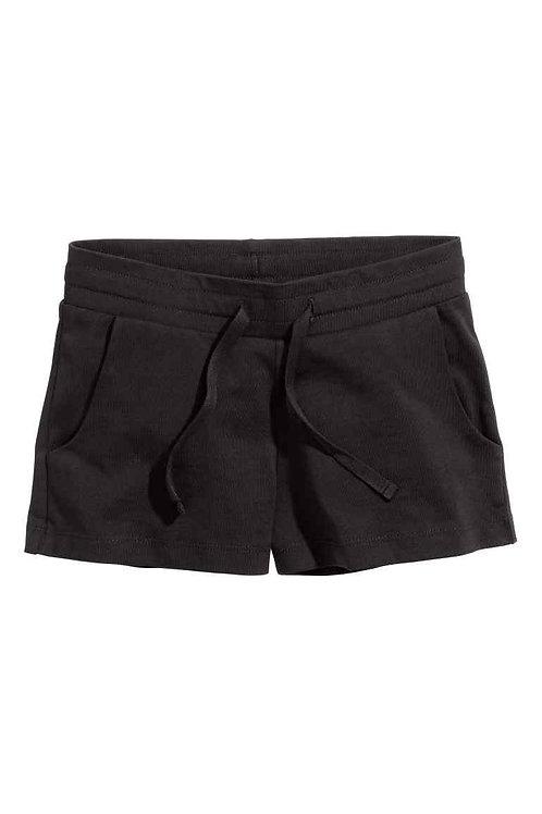 H&M Black Jersey shorts