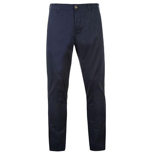 Navy Kangol Chino Trousers