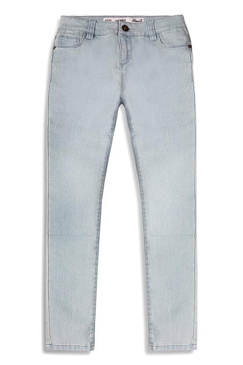 Older Girl Light Blue Jeans