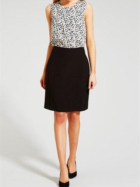 2 In 1 Dalmatian Print Dress