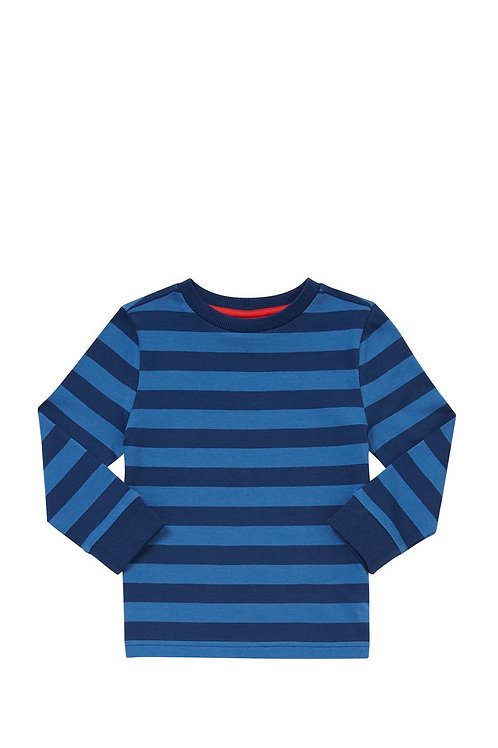 F&F Striped Long Sleeve T-Shirt
