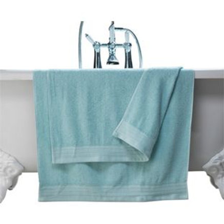 ColourMatch Pair of Bath Towels - Jellybean Blue