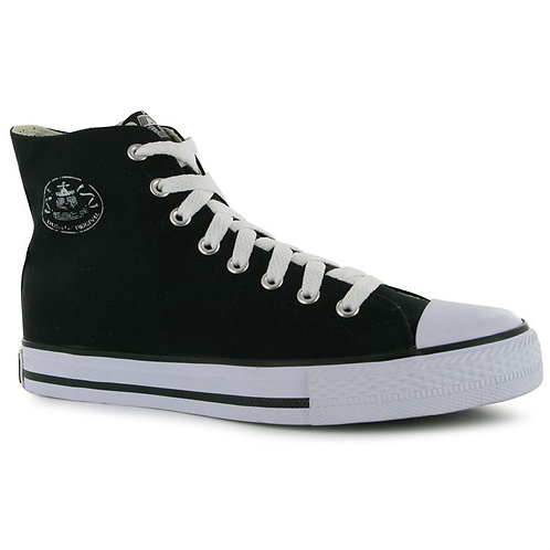 Dunlop Mens Canvas High Top Trainers
