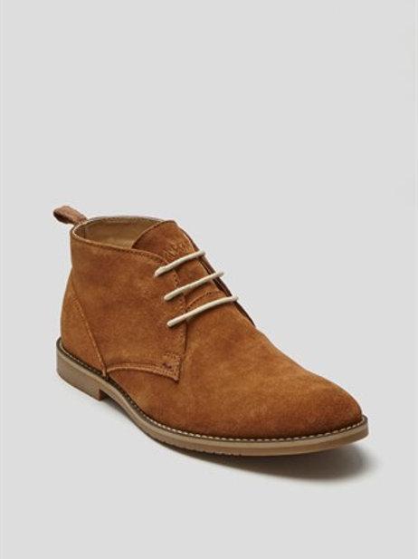Real Suede Desert Boot - Tan