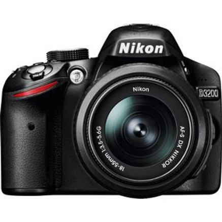 Nikon D3200 24MP DSLR Camera with 18-55mm Lens