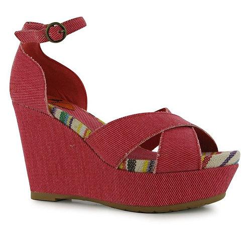 Red Rocket Dog Clara Ladies Wedge Shoes