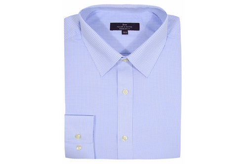 Blue Tailor & Cutter Gingham Shirt