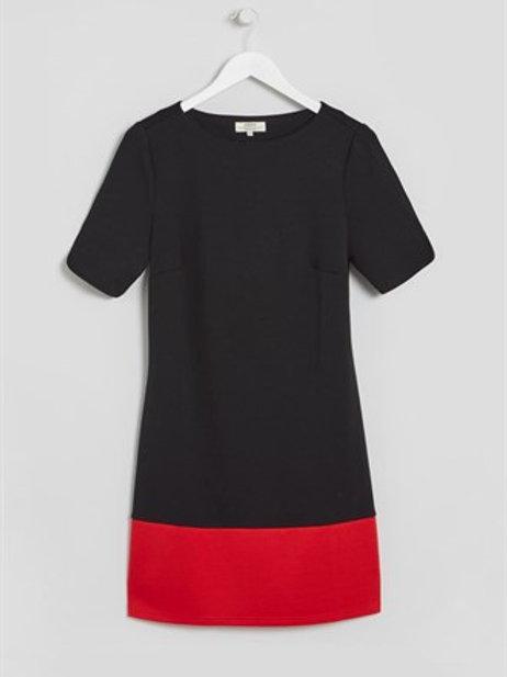 Colour block shift dress by Papaya