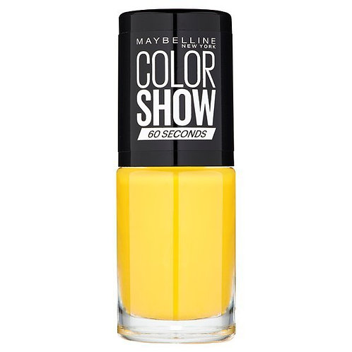 Maybelline Color Show Nail Polish Electric Yellow