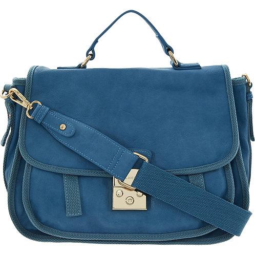 PAUL & JOE SISTER Blue Satchel Bag