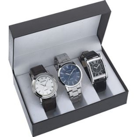 Constant Mens' Set of 3 Watches