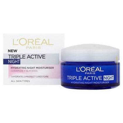 L'Oreal Triple Active Fresh Hydrating Night