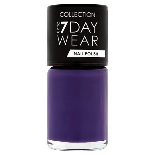 Collection Up To 7 Day Wear Nail Polish Sh 15 Purp