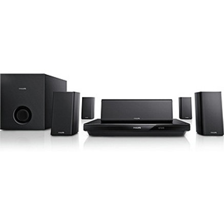 Philips HTS3520 1000W 5.1CH 3D Blu-ray & DVD Home