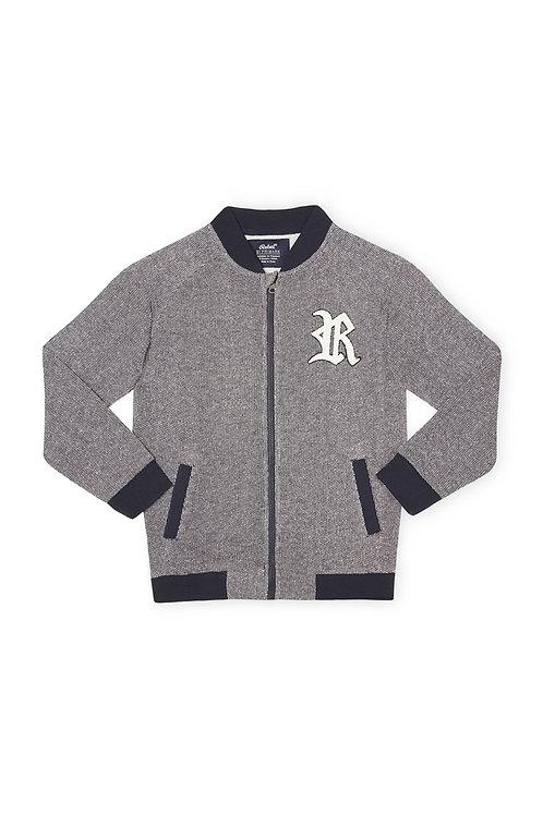 Rebel - Textured Sports Jacket Kids 9-10 Yrs