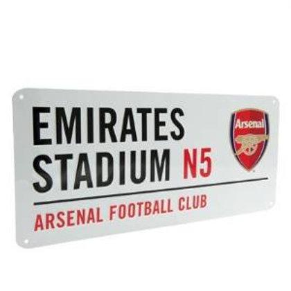 New Official Football Street Sign (Various Teams)