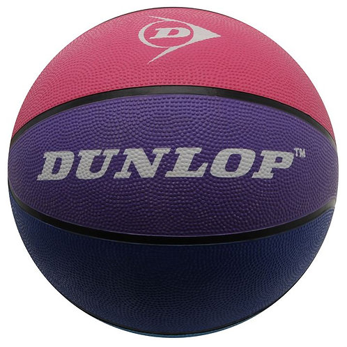 Multi colour Dunlop Rubber Basketball Ball
