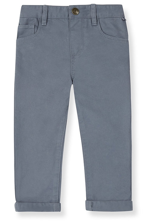 rebel- grey twill trousers