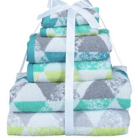 ColourMatch 6 Piece Towel Bale - Geometric