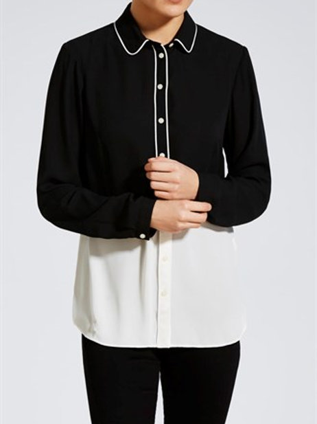 Monochrome Block Shirt