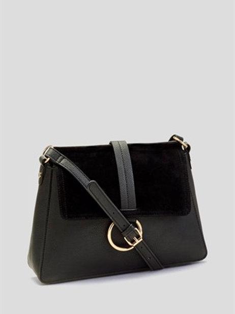 Black Large Across Body Bag